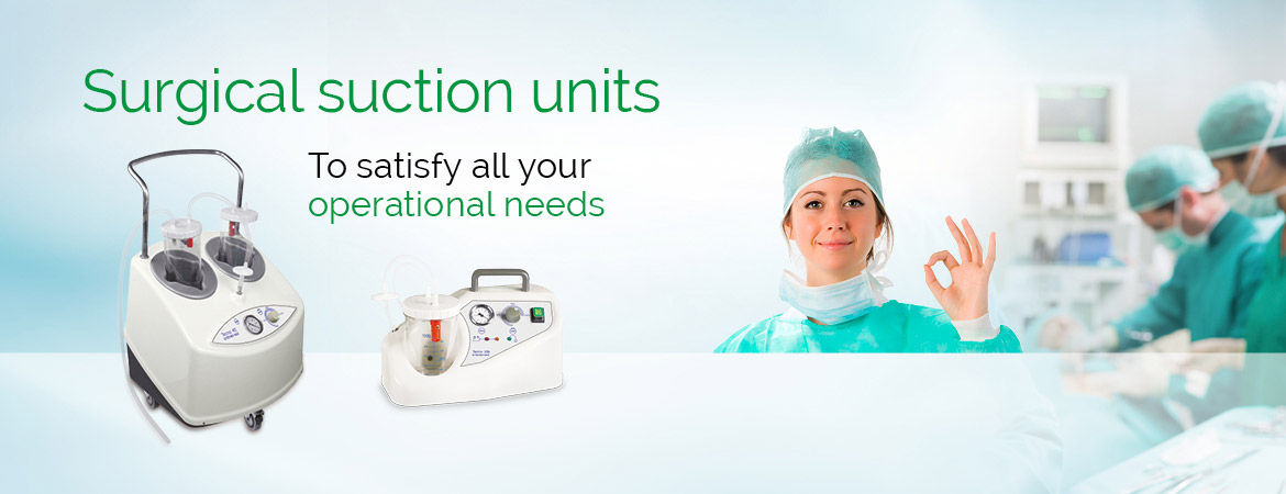 Surgical suction units
